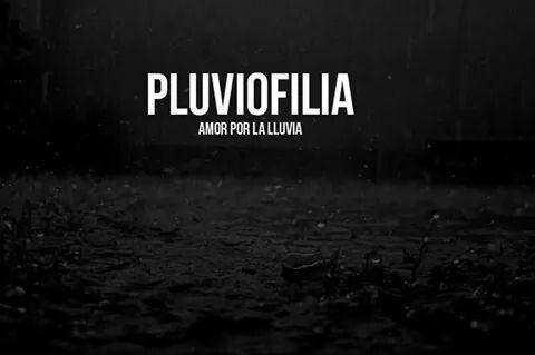 Pluviofilia-:Amor por la lluvia.