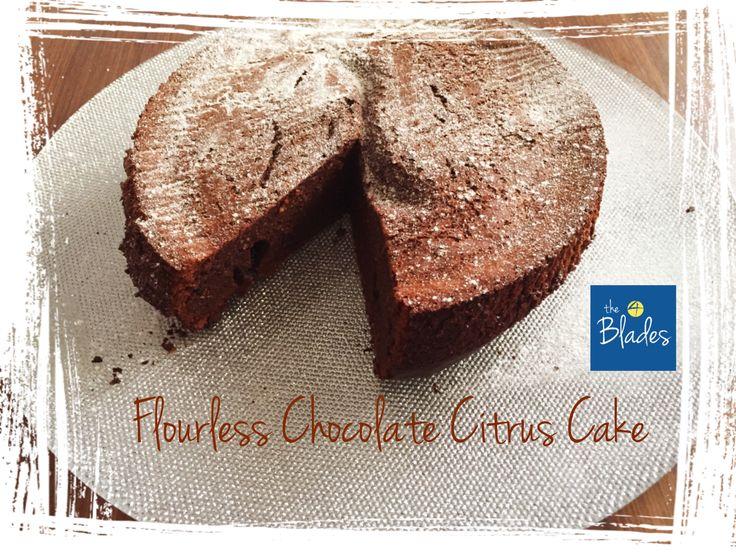 Flourless Chocolate Citrus Cake