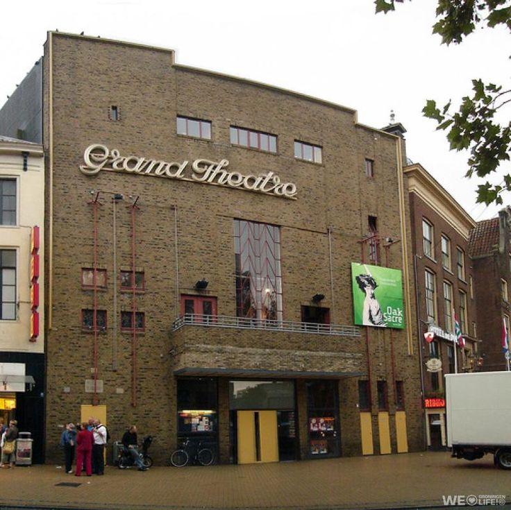 Grand Theatre. Grote Markt, Groningen. The Netherlands.