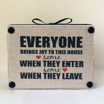 Shop Funny Signs For The Home on Wanelo
