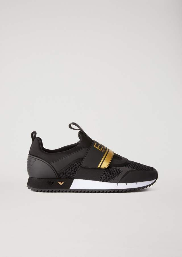 77156ba333c429 EA7 sneakers in scuba fabric with logo  emporioarmani  ea7  sneakers   sneakerhead  sneakernews  fashion  shoes