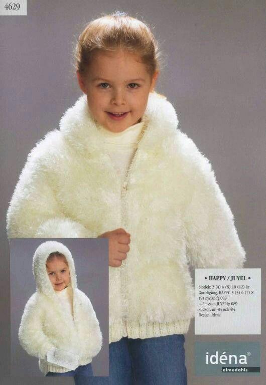 Girl's fuzzy jacket