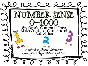 2nd grade common core....This HUGE packet contains 70 pages of Common Core aligned math games, activities and centers!