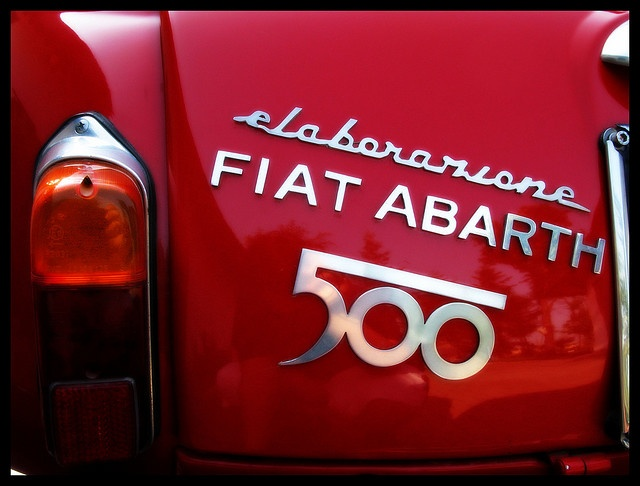 Fiat Abarth Logo...gorgeous!