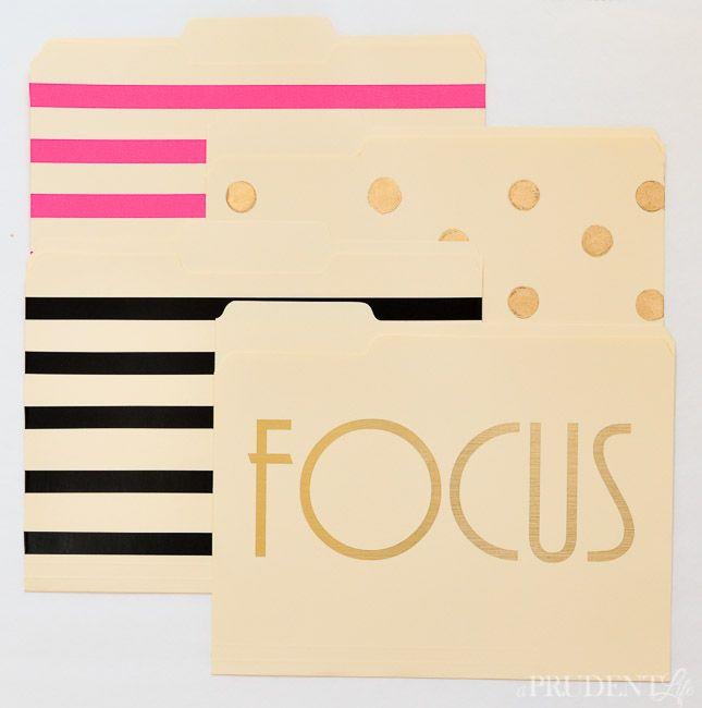 Custom Pretty File Folders-17