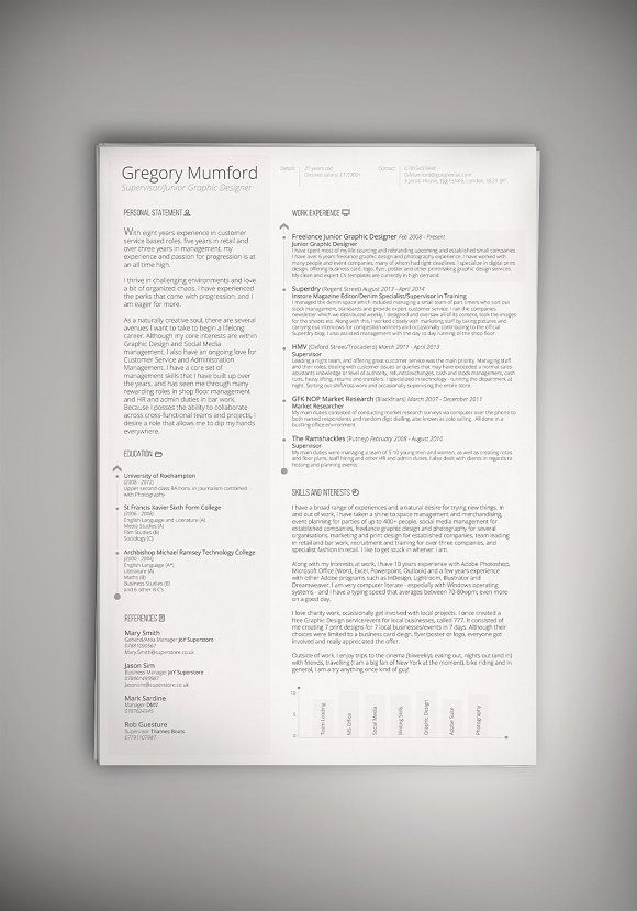 221 best Professional Resume Template images on Pinterest Cv - executive resume templates word