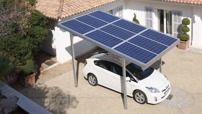 Украинская компания Smart-Eco разработала домашние солнечные зарядные станции для электромобилей