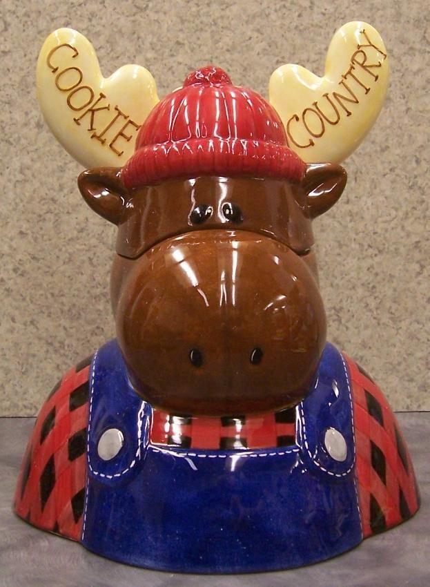 Moose Cookie Country Cookie Jar | Cookie Jars | Pinterest ...