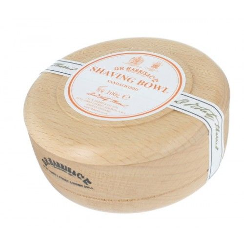 D.R. Harris Sandalwood Shave Soap in Beechwood Bowl - $35.00 :