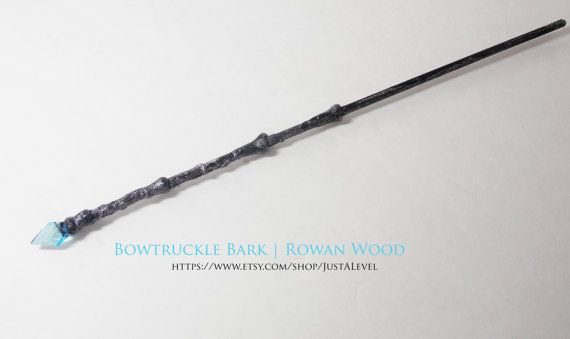 Starlight Harry Potter Inspired Wand Bowtruckle Bark by JustALevel