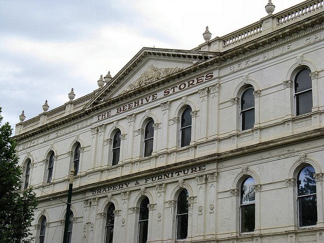 Bendigo Architecture by Dean-Melbourne, via Flickr Bee Hive Stores on Pall Mall