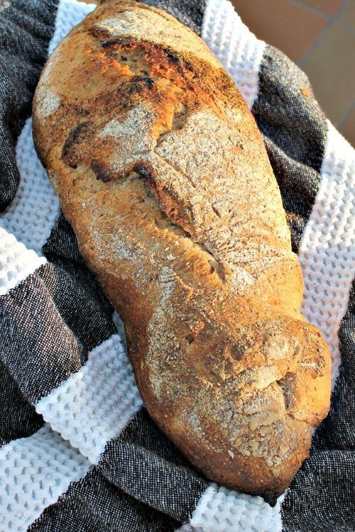 Koldhævet glutenfri brød