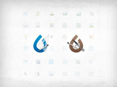 eNVEL & ISSOP app icons by Kristy Marcinová