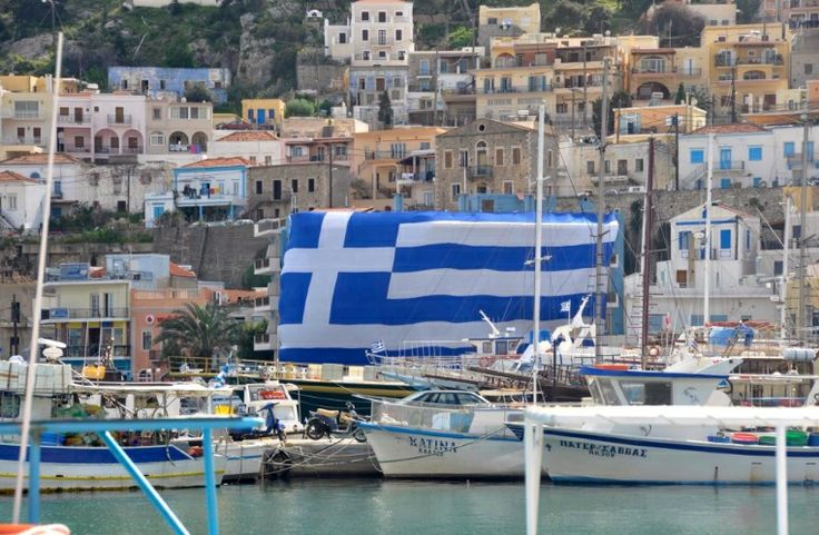 Independence Day, March 25, 2013 - Kalymnos, Greece