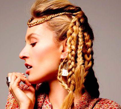 17 best wild hair images on pinterest blonde braids braided norse viking braids by liisa winkler ccuart Images