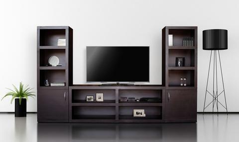 Resultado de imagen para muebles para tv muebles - Chimeneas minimalistas ...