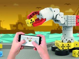 Tinkerbots ist ein einzigartiger Baukasten, mit dem Klein und Groß unzählige Roboter bauen kann. tinkerbots.com