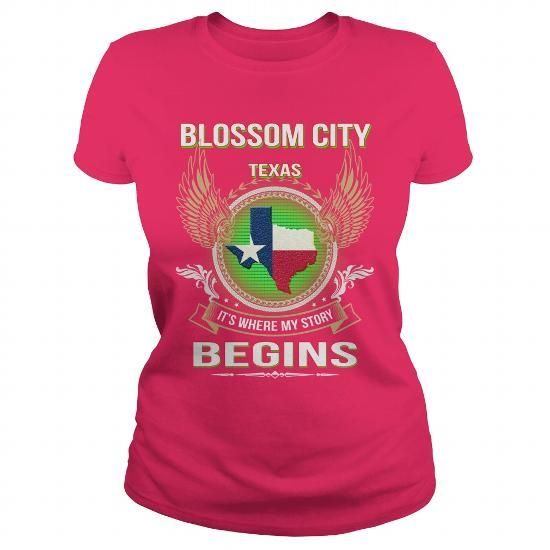 Cool and Awesome  Blossom city Shirt Hoodie