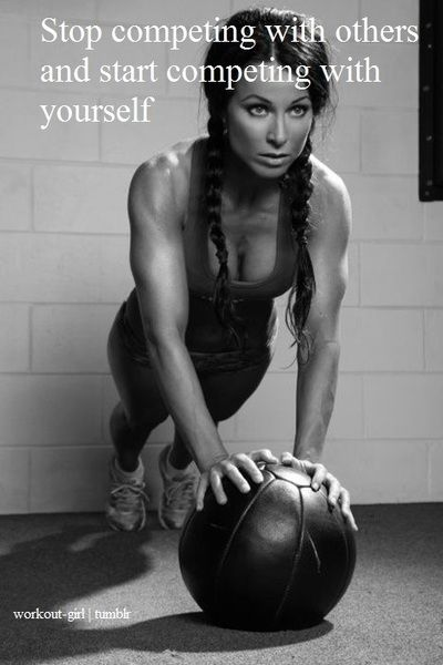 compete with yourself...: Inspiration, Quotes, Weight Loss, Exercise, So True, Healthy, Fitness Motivation, Start Competing, Workout