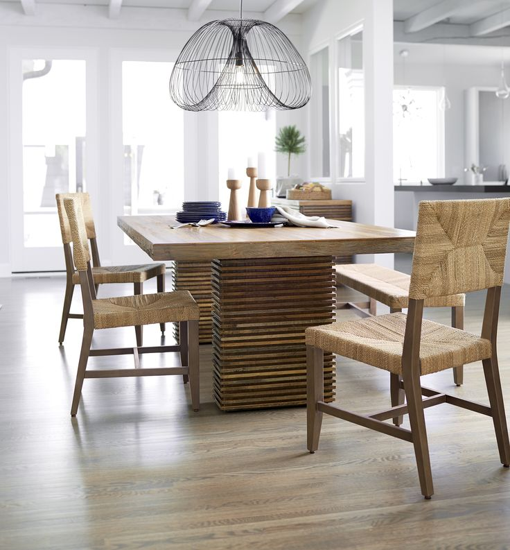 1000 Images About Dining Rooms On Pinterest Crate And Barrel High Dining Table And Leather