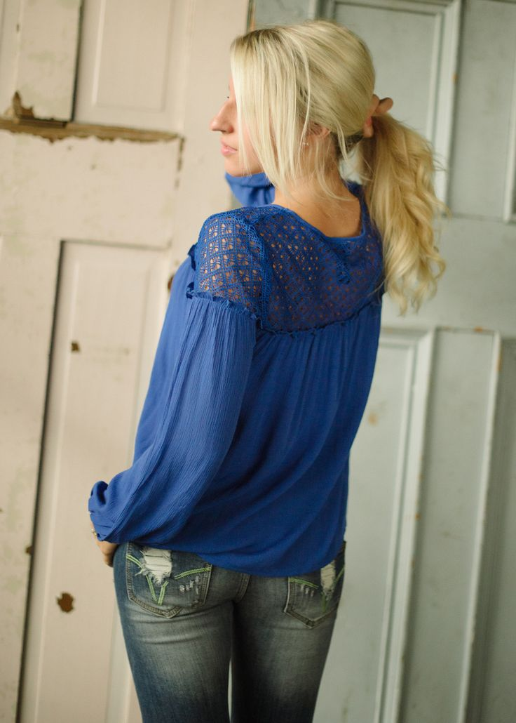 Piace Boutique - One Last Chance Top (Royal), $31.99 (http://www.piaceboutique.com/one-last-chance-top-royal/)