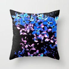 LILAC - Bluish Throw Pillow