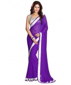 Kmozi's chiffon Purple colour Lace Broder WorkDesigner saree.. http://www.kmozi.com/designer-embroidery-sarees/kmozi-s-chiffon-purple-colour-lace-broder-workdesigner-saree-671?sort=p.viewed&order=DESC&price=0-4789