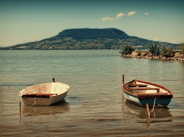 Lake Balaton, Hungary. Simply idillic :)