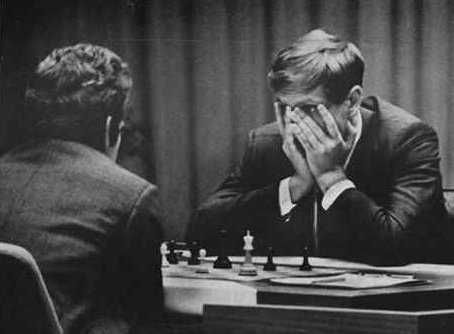 Fisher (USA) Spassky (USSR) During cold war.