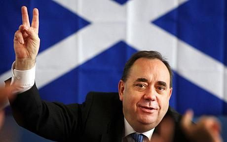 Alex Salmond is peddling Scottish nationalism. And very little ...