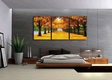 HD Canvas Print home decor wall art painting Picture-Tree 3PC No frame