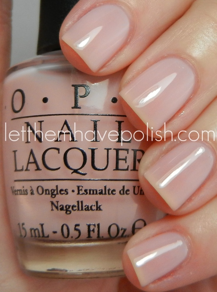 Opi Natural Colors