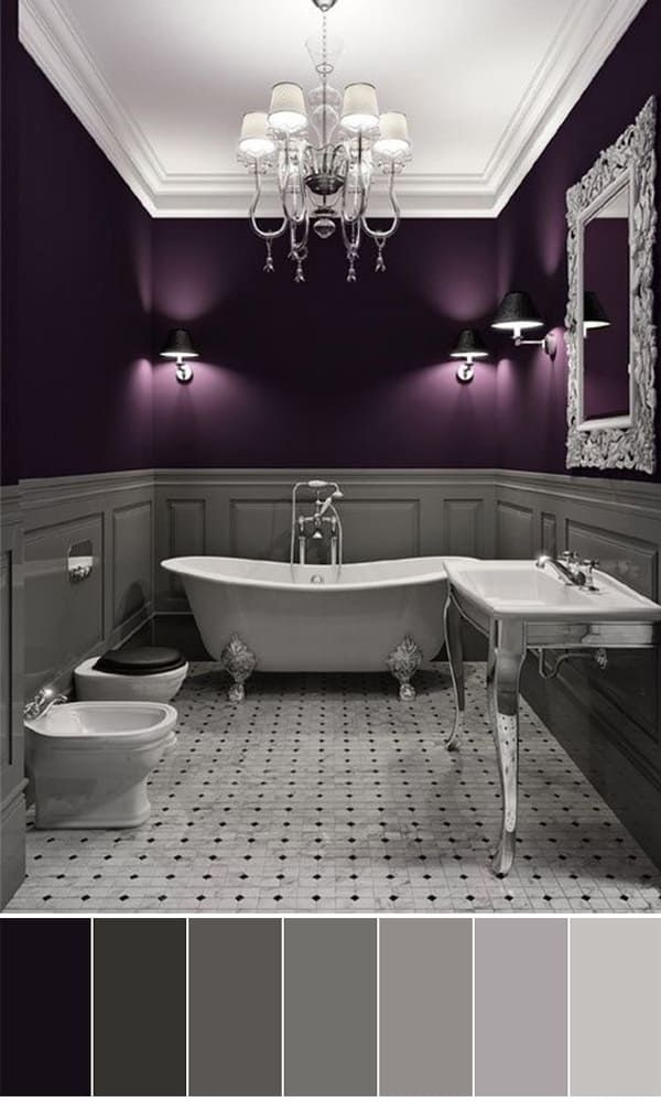 111 world s best bathroom color schemes for your home dream house rh pinterest com