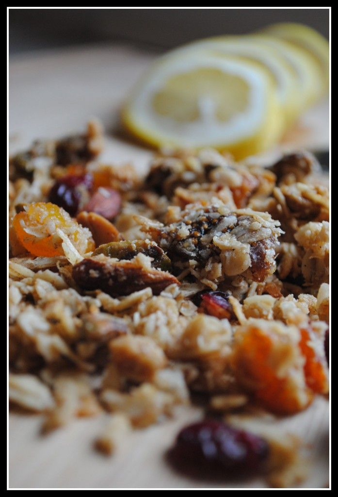 Definitely want to try making my own granola using this recipe!