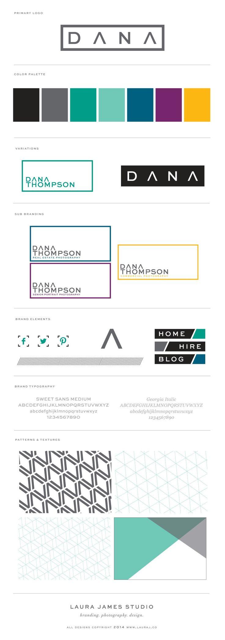 Dana Thompson Photography Brand Launch - Laura James Studio >> Branding Photography Design