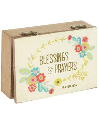 Natural Life Blessings & Prayers Prayer Box
