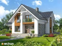 Image result for внешний дизайн домов с мансардой