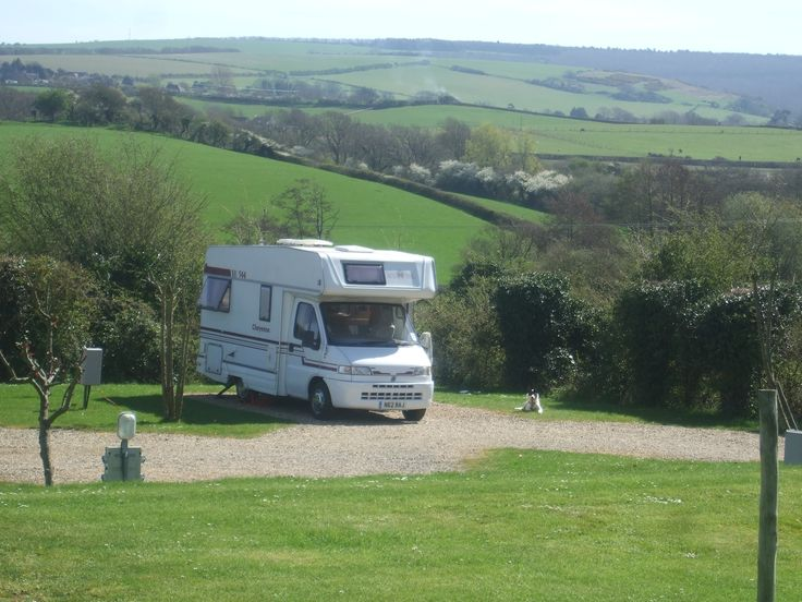 Motorhome heaven at The Orchards