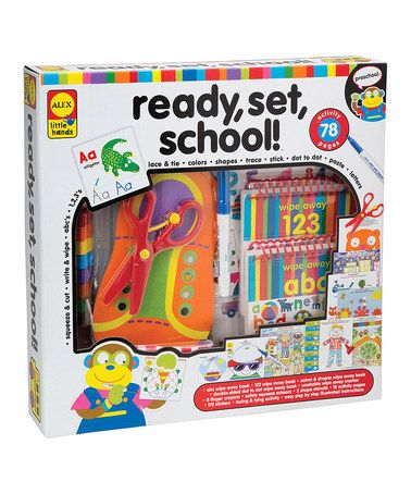 Take a look at this Ready, Set, School! Kit by ALEX on #zulily today!