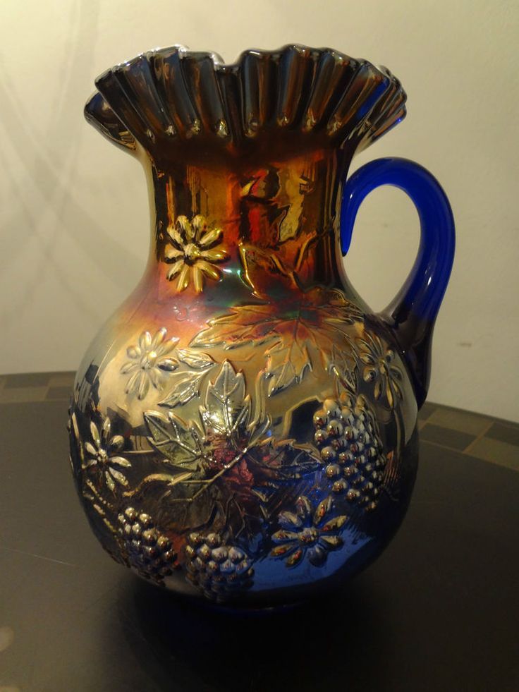 1019 Best Images About Carnival Glass On Pinterest Punch