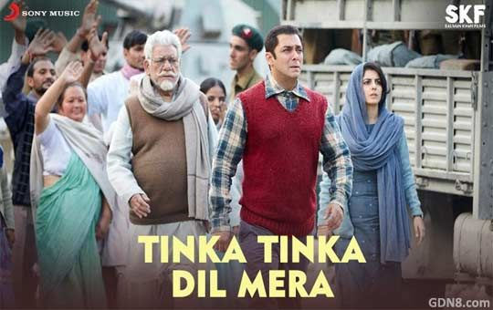 Tinka Tinka Dil Mera Lyrics from Tubelight The song is sung by Rahat Fateh Ali Khan Starring: Salman Khan, Om Puri Music composed by Pritam chakraborty Lyrics written by Amitabh Bhattacharya  ► http://www.gdn8.com/2017/06/tinka-tinka-dil-mera-lyrics-tubelight.html