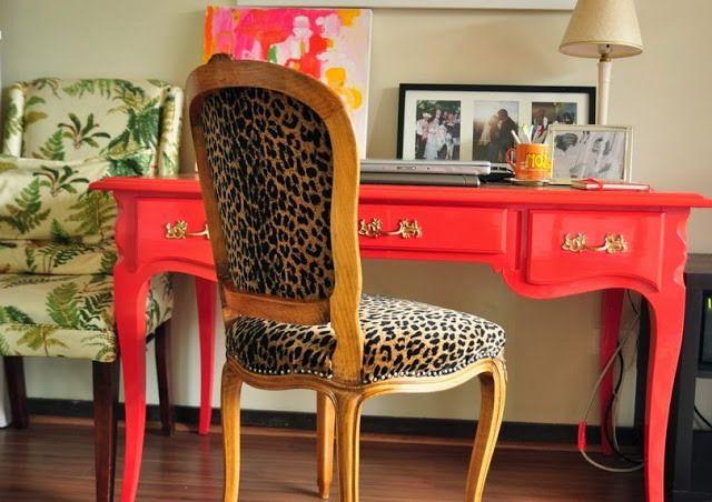 Леопардовый стул фото