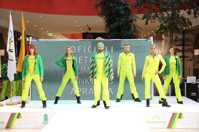 Lithuania Olympic uniform