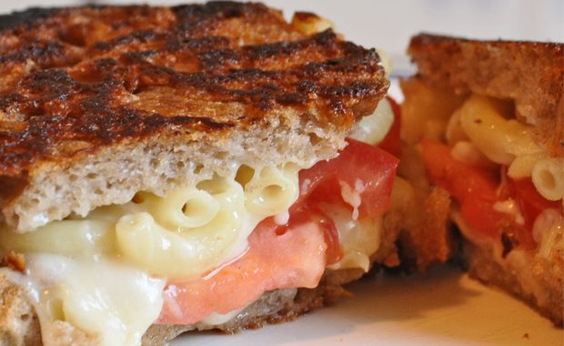 Classic Combo: Grilled Mac & Cheese. We combine the grilled cheese and mac & cheese in one must-try Guy Gourmet recipe.