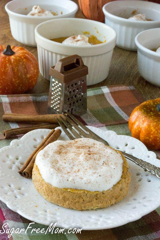 healthy pumpkin pie custard gluten free low carb pumpkin low gluten ...