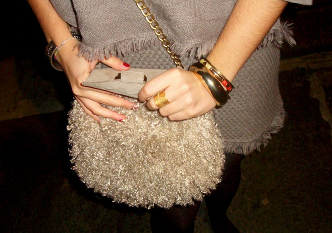 The Fashion Scan: Bon ton New Year's Eve - Elisa wears Chic Embrace ring by Stroili