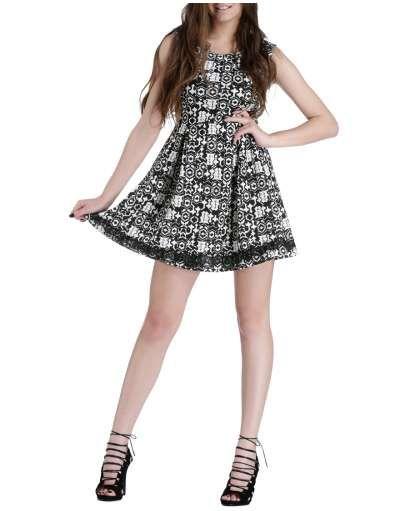 ΝΕΕΣ ΑΦΙΞΕΙΣ :: Αμάνικο Φόρεμα Pixels and Dust Black - OEM