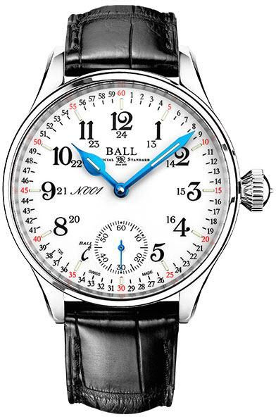 Ball Watch Company Trainmaster 125 Years Anniversary #add-content #bezel-fixed #bracelet-strap-crocodile #brand-ball-watch-company #case-depth-11-55mm #case-material-steel #case-width-44mm #delivery-timescale-call-us #dial-colour-white #discount-code-allow #gender-mens #limited-edition-yes #luxury #movement-manual #new-product-yes #official-stockist-for-ball-watch-company-watches #packaging-ball-watch-company-watch-packaging #style-dress #subcat-trainmaster #supplier-model-no-nm3038d-ll3j-wh