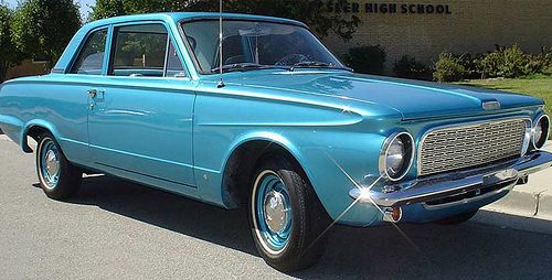1963 Plymouth Valiant 100 30 Mpg On A Small Slant Six