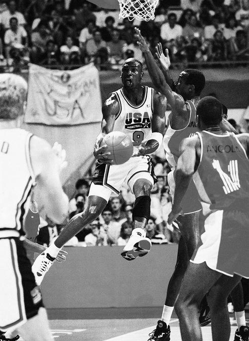 Michael Jordan vs. Angola
